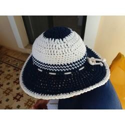 SANTORINI-Handmade knitted Hat-M