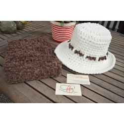 ΑΡΑΧΩΒΑ-Χειροποίητο πλεκτό καπέλο-Μ