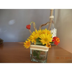 CANDLEHOLDER-FLOWER VASE-TREE