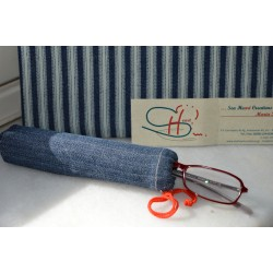 SPECTACLE CASE-JEANS-SMALL