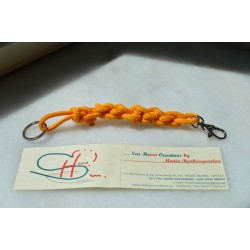 NAUTICAL KEY HOLDER-YELLOW