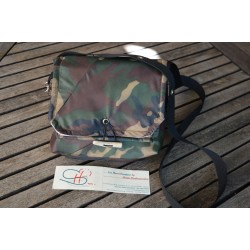 WATERPROOF SHOULDER BAG-Military-S
