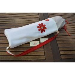 YOGA BAG-IVORY/RED
