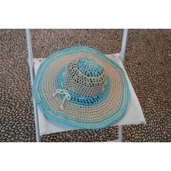 ΦΟΛΕΓΑΝΔΡΟΣ-Χειροποίητο πλεκτό καπέλο-L