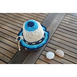 GREEK ISLANDS-Handmade knitted Hat-S